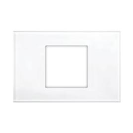 מסגרת 2 מקום לבן ללא צג